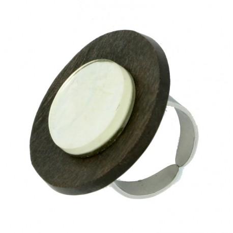 Ring Natural aus Holz