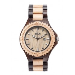 Wooden Watch tow-tone for Man – Kennedy
