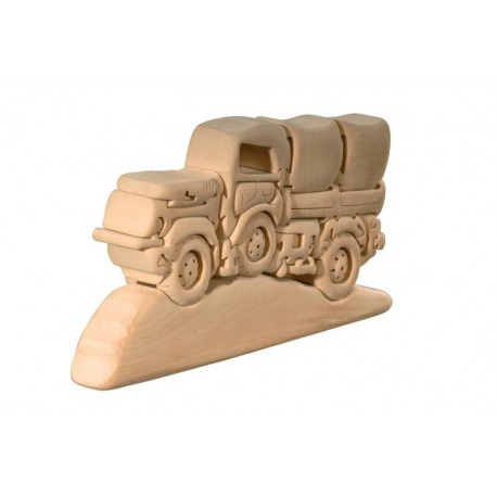 3D Puzzle wood Desert Truck