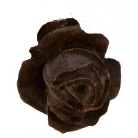 Holz-Rose als Holzfigur