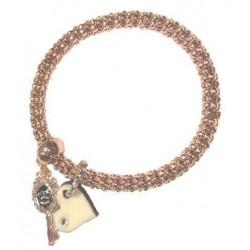Bracelet with wood Charm