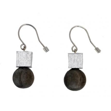 Edle Ohrringe aus Holz
