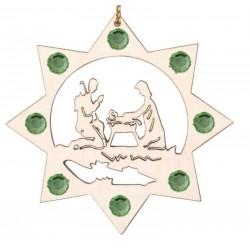 La Sacra Famiglia e i cristalli Swarovski
