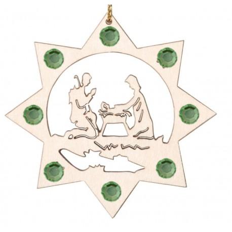 Die Heilige Familie u. Swarovski Kristallen
