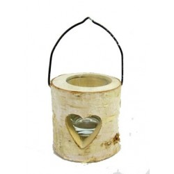 Deco porta candela cm 8x8x8