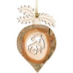 Drop with Holy Family to hang 9cm