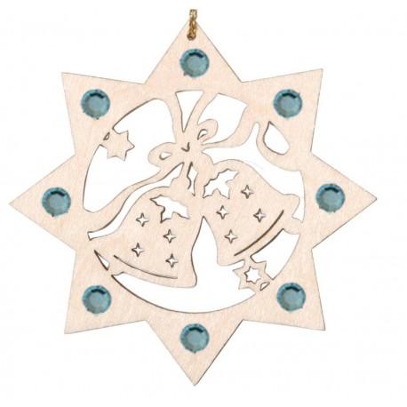 Bells with Swarovski crystals Christmas decoration