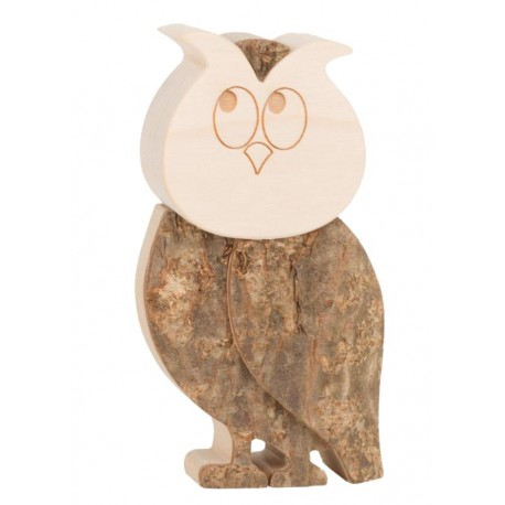 Owl wood 4,5 inches