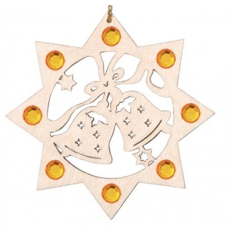Die Zwei Glocken mit Swarovski Kristallen
