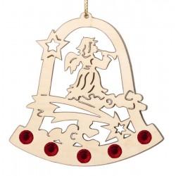 Addobbo natalizio con cristalli Swarovski
