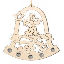 Addobbo Atmosfera natalizia con cristalli Swarovski
