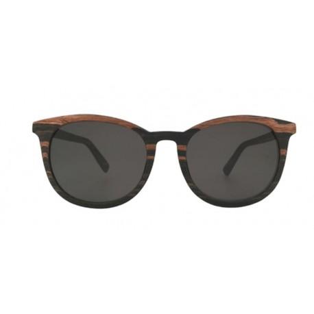 Occhiali da sole in legno - unisex - con lenti polarizzate