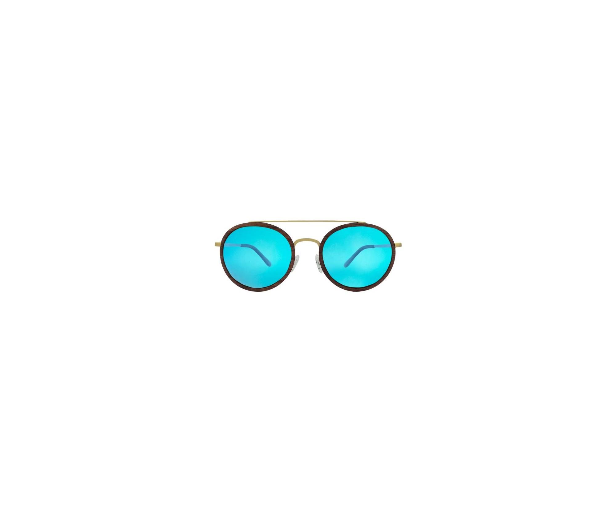 vendita calda online 149f2 b6212 Occhiali da sole in legno - unisex - con lenti polarizzate - DOLFILAND