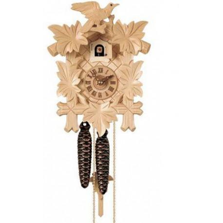 Mechanische Kuckucksuhr, Dolfi kleine Geschenke aus Holz, diese Kreation ist in Gröden hergestellt