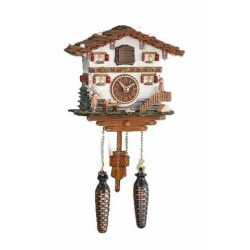 German Cuckoo Clock with Deer Head