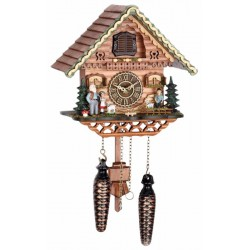 Cuckoo Clock with Deer Head