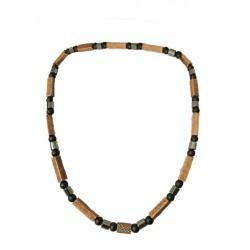 Halskette Natural Holz Handarbeit