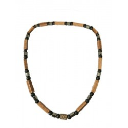 Wood, Necklace Natural Italian Style