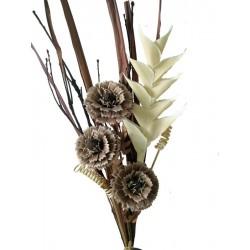 Flower in wood