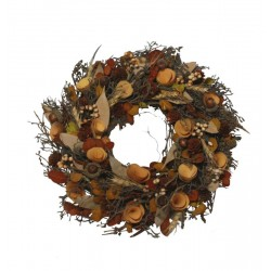 Ornamental Wreath made of wood
