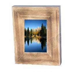 Portafoto in legno 20,5 x 25,5 x 4 cm