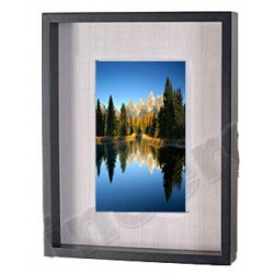 Photo Frame in wood 18 X 23 X 3 cm