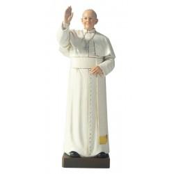 Papst Franziskus aus Holzmasse