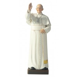 Pope Francis in paste of wood