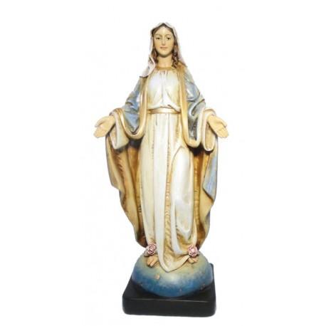 Madonna Maria Immacolata relizzata in pasta di legno