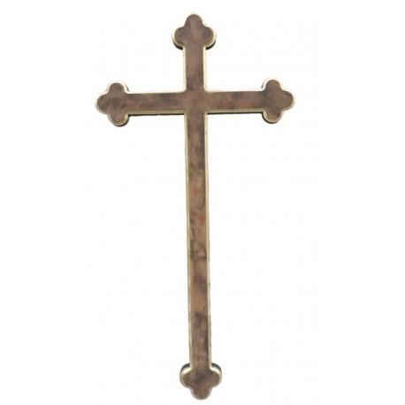 San Damiano Kreuz - Holz bemalt antik Ausführung