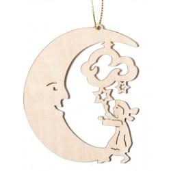 Mond mit Kind