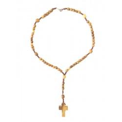 Rosario in legno d'ulivo - Dolfi rosario in legno da collo, Selva Val Gardena