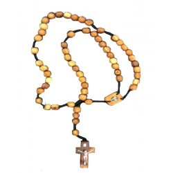 Rosary in holy wood