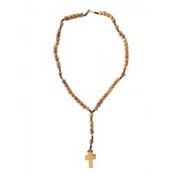 Rosario in legno d'ulivo - Dolfi rosario di legno, Santa Cristina Gardena