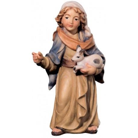 Jung Shepherd with Rabbit in wood