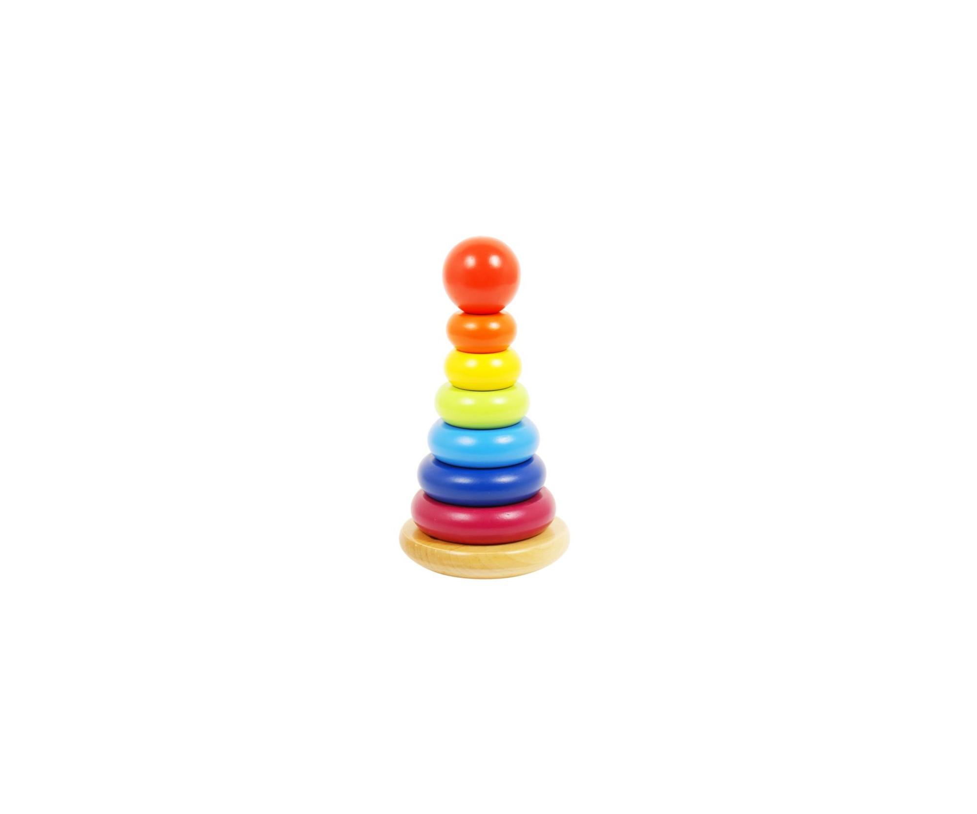 Holzspiel Turm