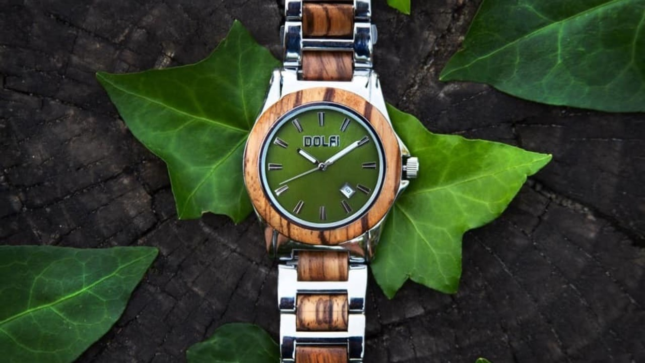 DOLFI wooden wristwatches
